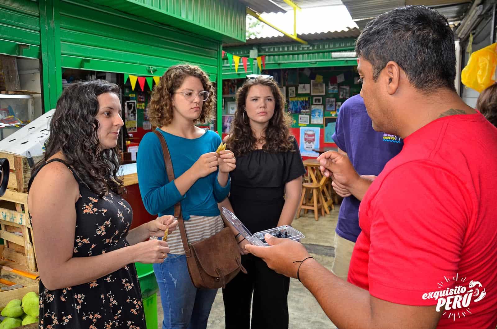Market Tour Lima